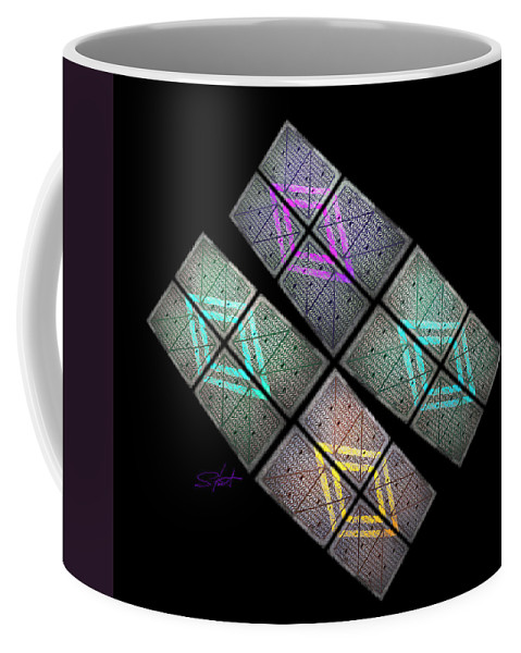 Science Fiction Coffee Mug featuring the photograph Urban Space Station by Charles Stuart