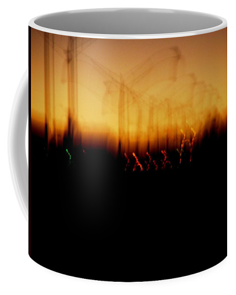 Sunset Coffee Mug featuring the photograph Urban Vibrations by M Pace