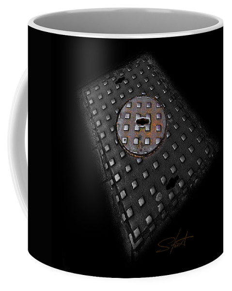 Urban Coffee Mug featuring the photograph Urban Voice by Charles Stuart