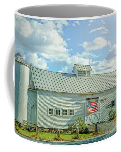 Bridges Coffee Mug featuring the photograph Us Of America by Jason Dodd