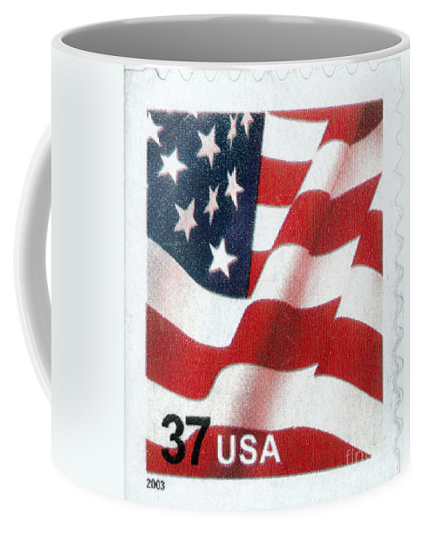 2003 Coffee Mug featuring the photograph U.s. Postage Stamp, 2003 by Granger