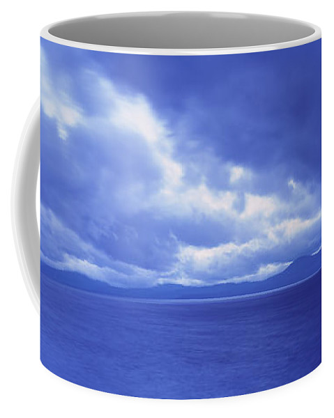 Photography Coffee Mug featuring the photograph Usa, California, Lake Tahoe, Storm by Panoramic Images
