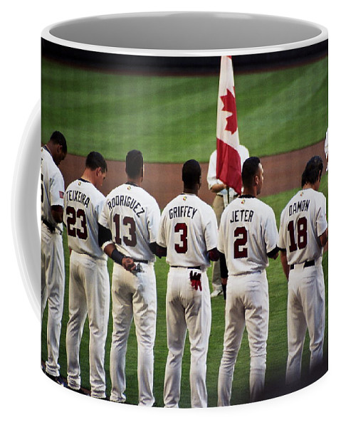 Baseball Coffee Mug featuring the photograph Usa-world Baseball Classic by Lucia Vicari