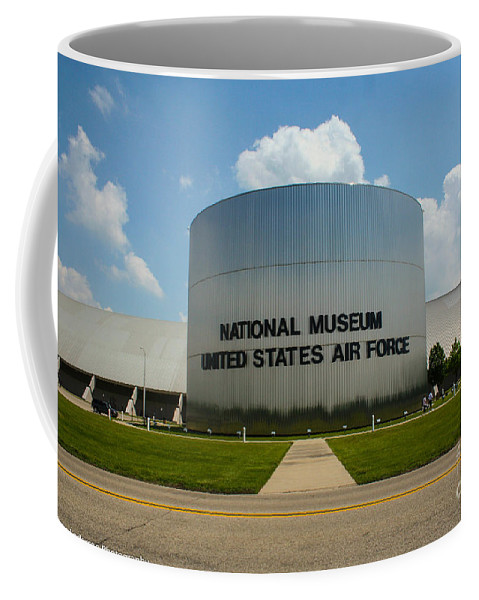 Usaf Museum Coffee Mug featuring the photograph Usaf Museum by Tommy Anderson