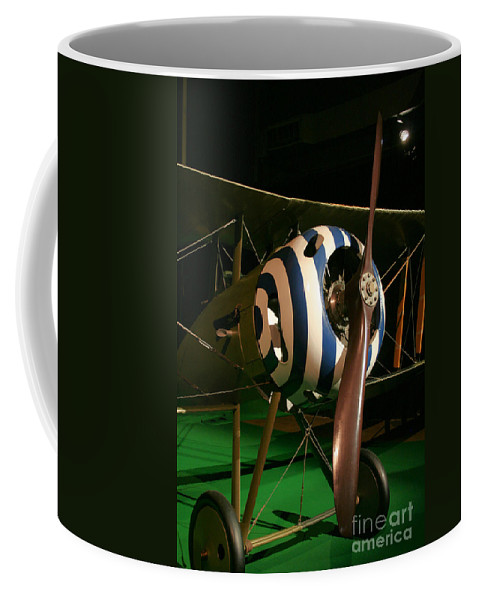 Usaf Museum Coffee Mug featuring the photograph Usaf Museum Wwi by Tommy Anderson