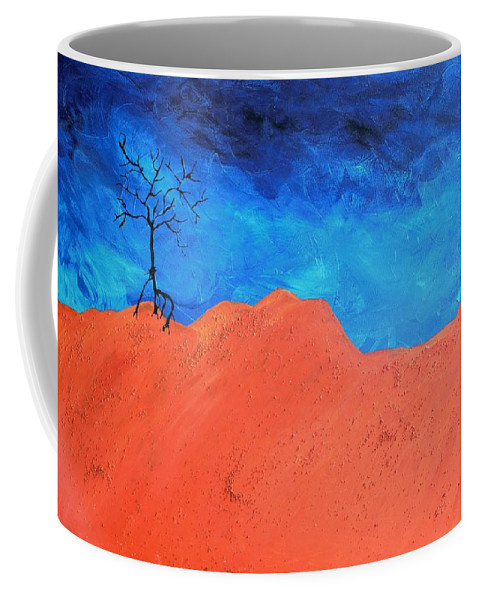 Utah Coffee Mug featuring the painting Utah by Jennifer Klotz