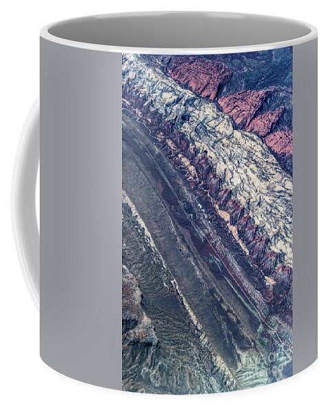 Utah Coffee Mug featuring the photograph Utah Mountains High Altitiude Aerial Photo by David Oppenheimer