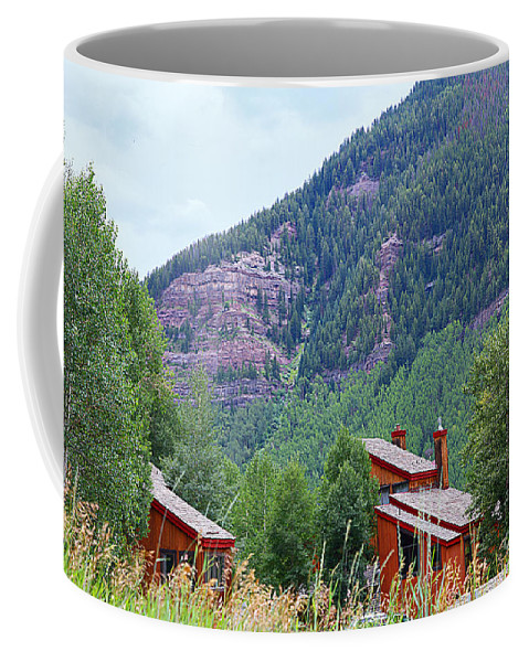Vail Coffee Mug featuring the photograph Vail Landscape by Madeline Ellis