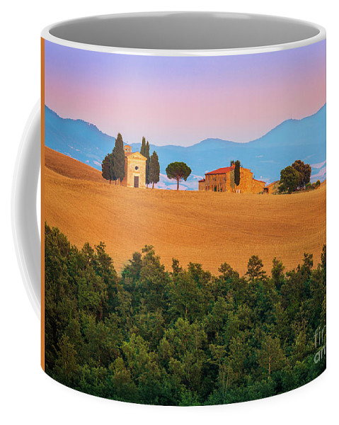 Europe Coffee Mug featuring the photograph Val D'orcia Serenity by Inge Johnsson