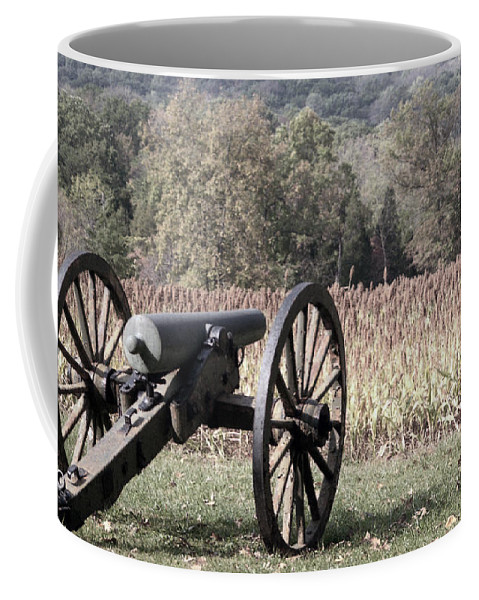 Gettysburg Coffee Mug featuring the photograph Valley Of Death by Richard Rizzo