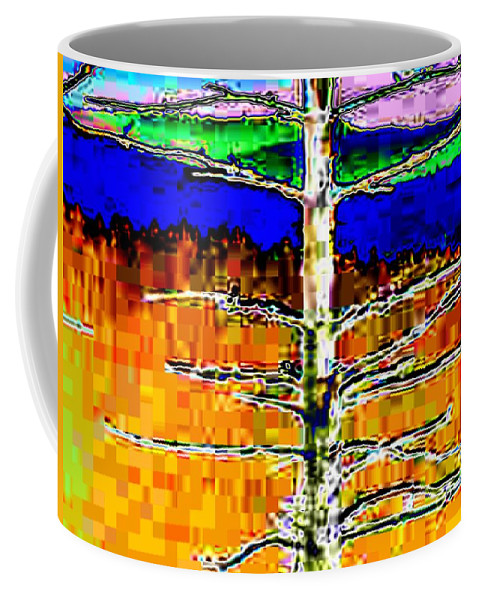 Valley Coffee Mug featuring the photograph Valley View 1 by Tim Allen