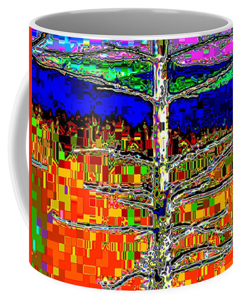 Valley Coffee Mug featuring the photograph Valley View 2 by Tim Allen