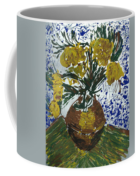 Flowers Coffee Mug featuring the painting Van Gogh by J R Seymour