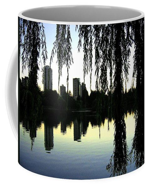 Vancouver Coffee Mug featuring the photograph Vancouver- Lost Lagoon by Will Borden