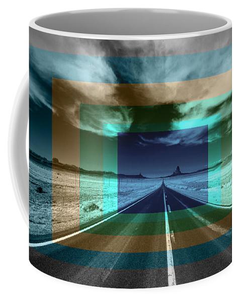 Vanishing Coffee Mug featuring the photograph Vanishing Point by Rob Hawkins