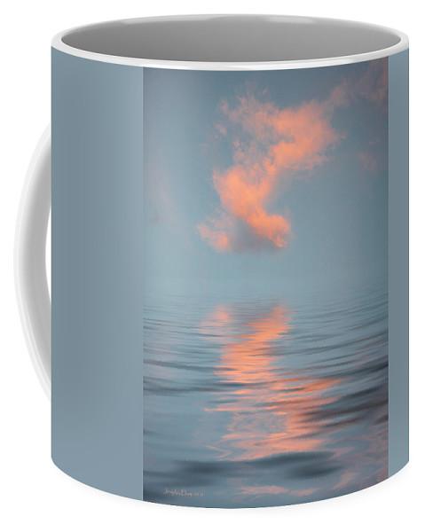 Original Art Coffee Mug featuring the photograph Vapor 2 by Jerry McElroy