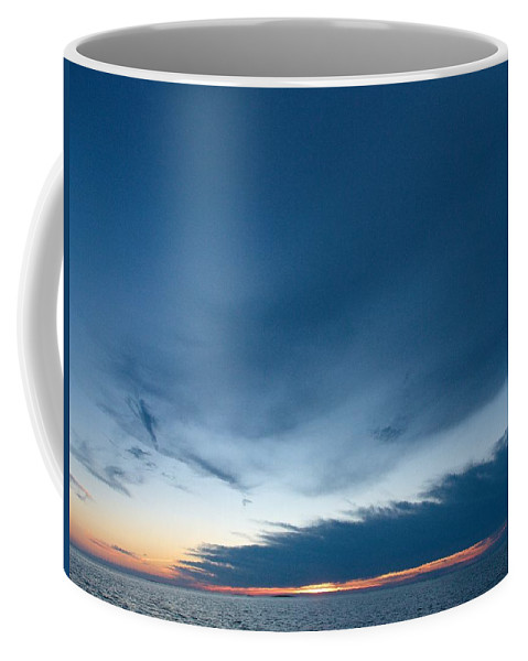 Lehtokukka Coffee Mug featuring the photograph Variations Of Sunsets At Gulf Of Bothnia 4 by Jouko Lehto