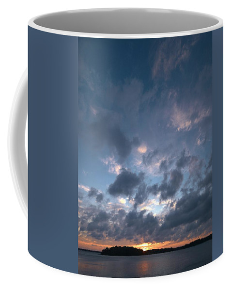 Lehtokukka Coffee Mug featuring the photograph Variations Of Sunsets At Gulf Of Bothnia 5 by Jouko Lehto