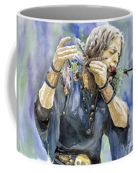 Watercolor Coffee Mug featuring the painting Varius Coloribus by Yuriy Shevchuk
