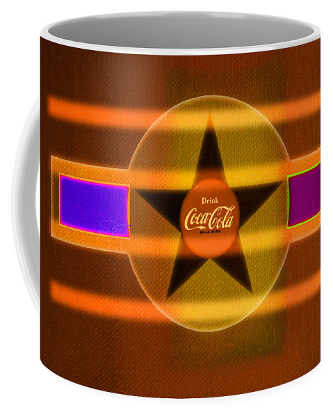 Label Coffee Mug featuring the painting Venetian Cola by Charles Stuart