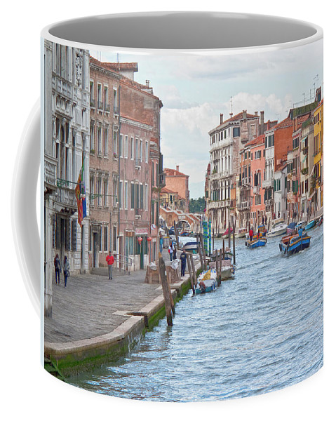 Venice Coffee Mug featuring the photograph Venice In Pastel by Heiko Koehrer-Wagner