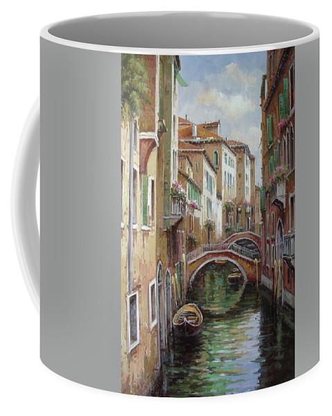 Venice Coffee Mug featuring the painting Venice by Lucio Campana