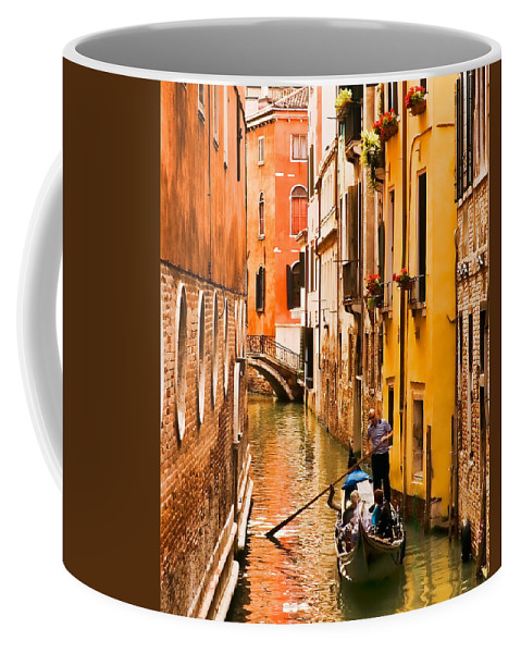 Venice Coffee Mug featuring the photograph Venice Passage by Mick Burkey