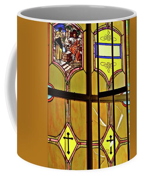 Window Coffee Mug featuring the photograph Ventana by Diana Hatcher