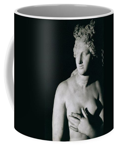 Venus Pudica (marble) Coffee Mug featuring the photograph Venus Pudica by Unknown