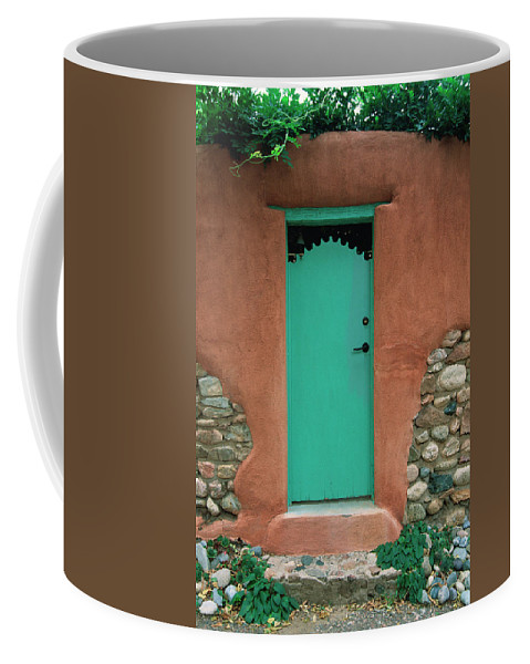 Southwest Coffee Mug featuring the photograph Verde Way by Jim Benest