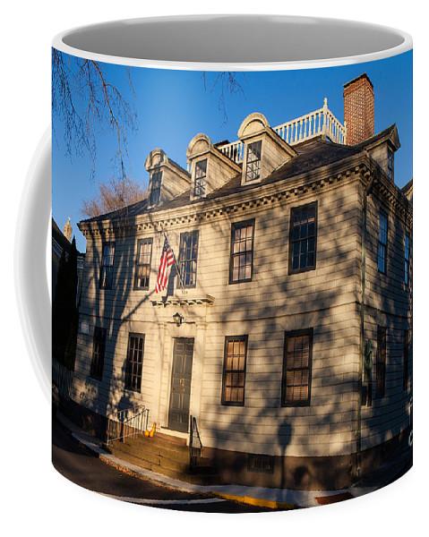 Travel Coffee Mug featuring the photograph Vernon House Newport Rhode Island by Jason O Watson