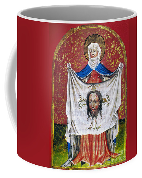 15th Century Coffee Mug featuring the photograph Veronicas Veil by Granger