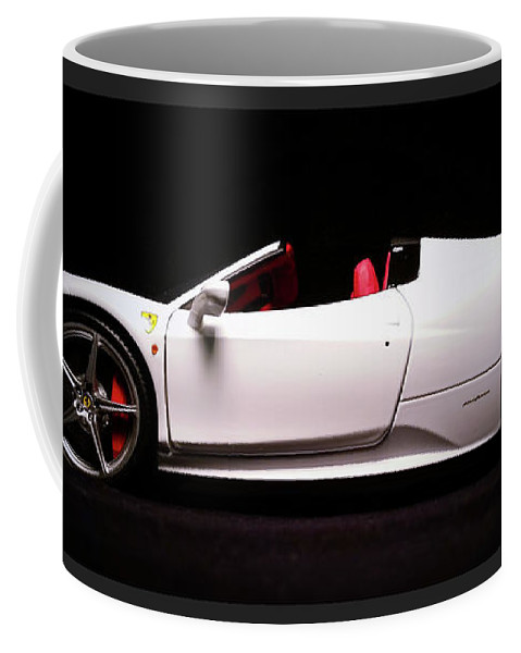Diecast Car Coffee Mug featuring the photograph Vroom by D G Reiter