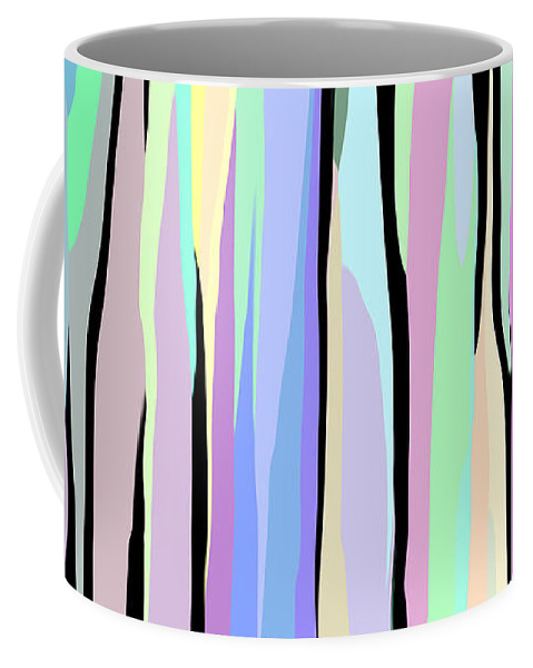 Abstracts Coffee Mug featuring the photograph Vertical Coloration by Denise Woldring