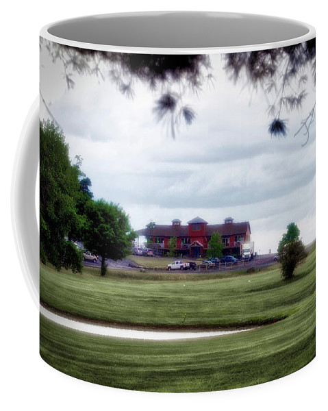 Tully New York Coffee Mug featuring the photograph Vesper Hills Golf Club Tully New York 03 by Thomas Woolworth