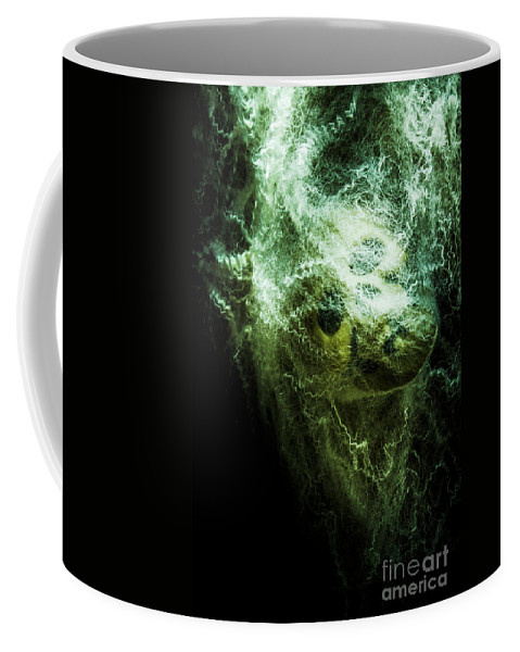 Skull Coffee Mug featuring the photograph Victim Of Prey by Jorgo Photography - Wall Art Gallery