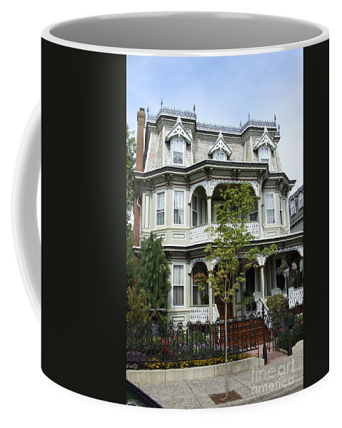 Victorian House Coffee Mug featuring the photograph Victorian House by Christiane Schulze Art And Photography