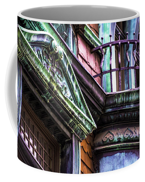 Coffee Mug featuring the photograph Victorian On Rush V2 by Raymond Kunst