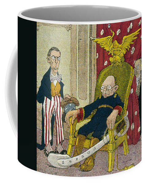 1913 Coffee Mug featuring the photograph Victoriano Huerta by Granger