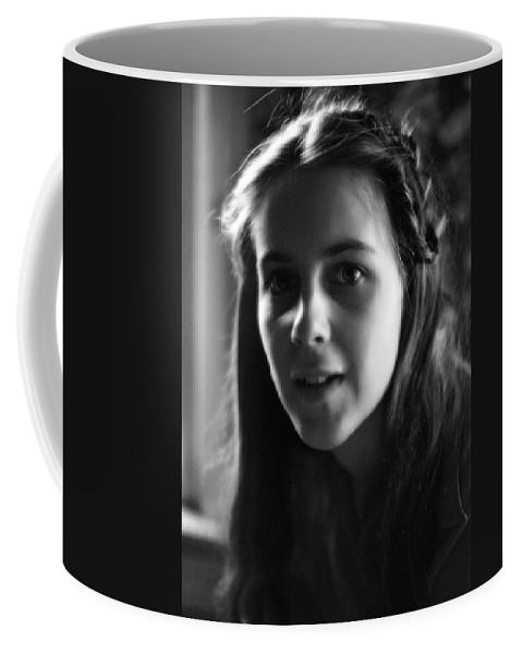 Portrait Coffee Mug featuring the photograph Vida by Lee Santa