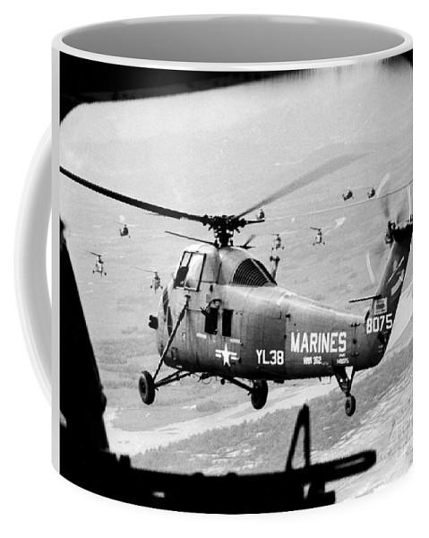 1966 Coffee Mug featuring the photograph Vietnam War 1966 by Granger