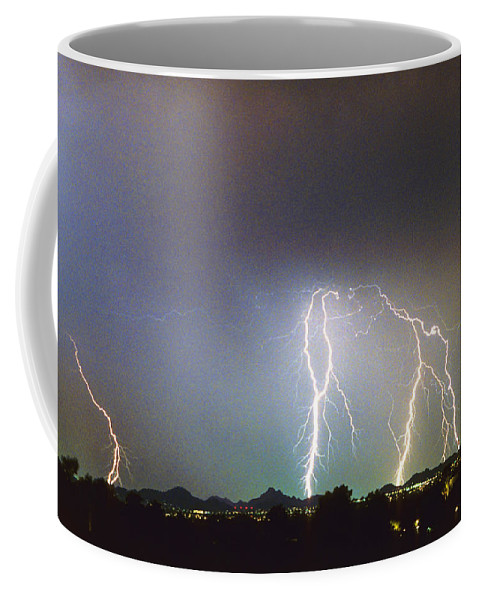 Arizona Coffee Mug featuring the photograph View From Oaxaca Restaurant Ll by James BO Insogna