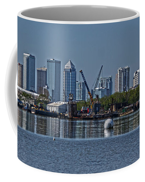 Tampa Coffee Mug featuring the photograph View From The Port by Chauncy Holmes
