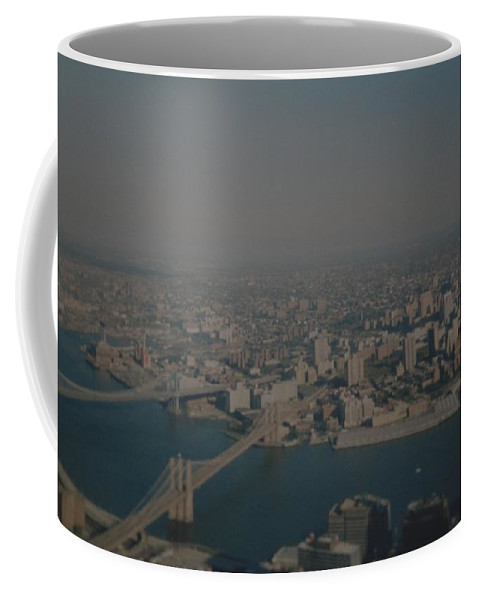 Wtc Coffee Mug featuring the photograph View From The W T C by Rob Hans