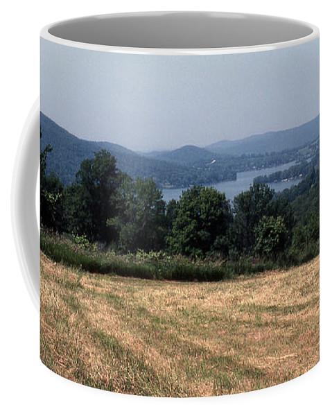 Lake Waramaug Coffee Mug featuring the photograph View Of Lake Waramaug by Richard Rizzo