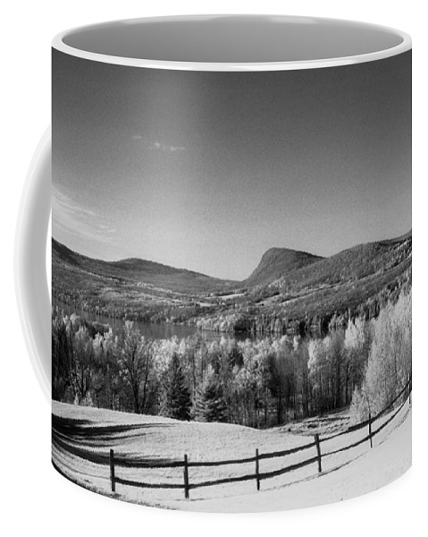 Landscape Coffee Mug featuring the photograph View Of Lake Willoughby by Richard Rizzo