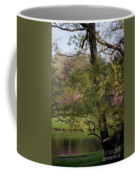 Landscape Coffee Mug featuring the photograph View Out My Office Window. by David Lane