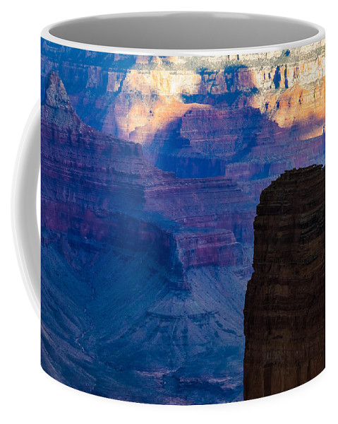 Vishnu Coffee Mug featuring the photograph View Toward Vishnu by Ed Gleichman