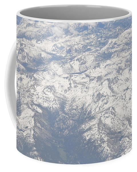 View Coffee Mug featuring the photograph Views From The Sky by Terry Anderson