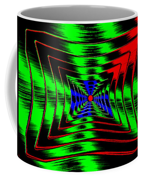 Energizing Coffee Mug featuring the digital art Vim And Vigor by Will Borden